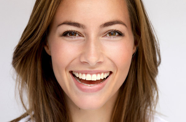 Beautiful woman smiling at Calapooia Family Dental in Albany, OR